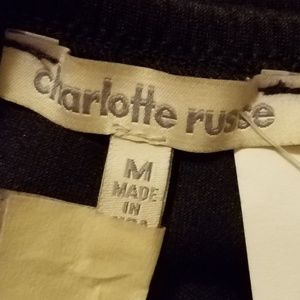 Charlotte Russe Dresses - Charlotte Russe Black Skater Dress Size Medium